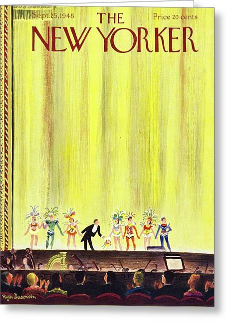 New Yorker September 25, 1948 Greeting Card