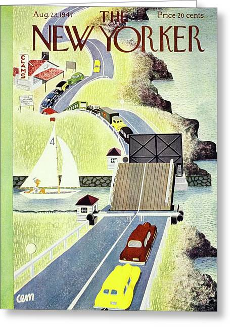 New Yorker  August 23, 1947 Greeting Card