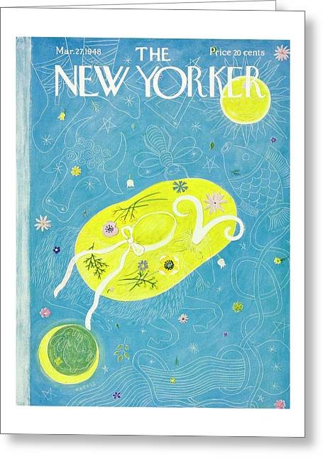 New Yorker March 27, 1948 Greeting Card