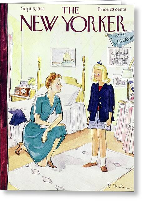 New Yorker September 6, 1947 Greeting Card