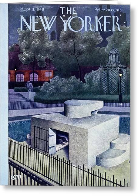 New Yorker September 11, 1948 Greeting Card