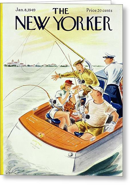 New Yorker January 8, 1949 Greeting Card