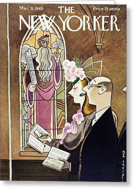 New Yorker March 31, 1945 Greeting Card