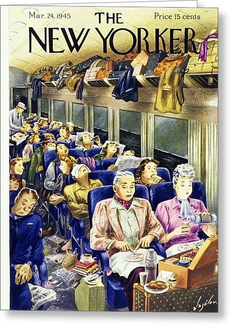 New Yorker March 24 1945 Greeting Card