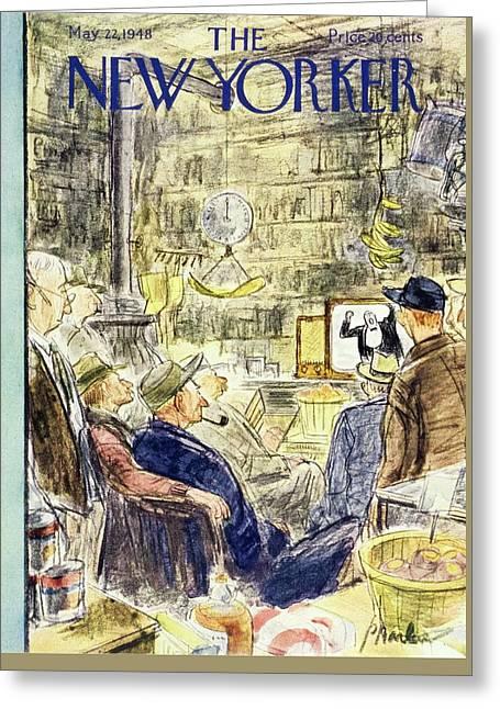 New Yorker May 22, 1948 Greeting Card