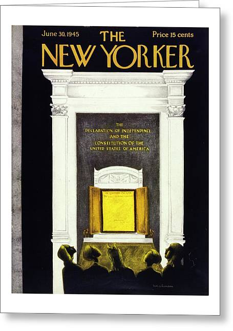 New Yorker June 30, 1945 Greeting Card