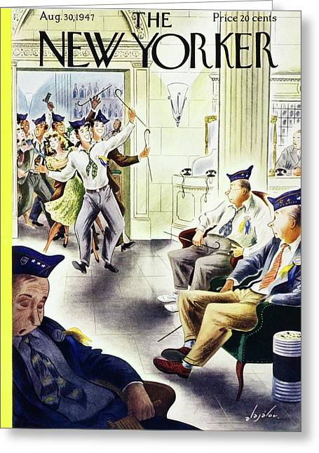 New Yorker August 30, 1947 Greeting Card