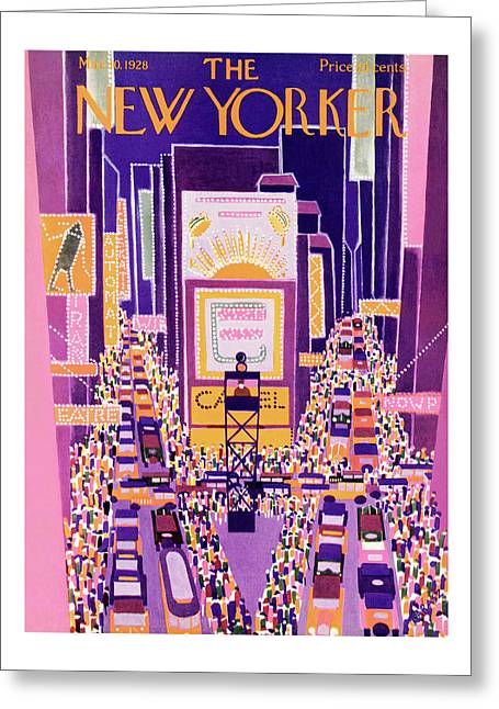 New Yorker March 10th, 1928 Greeting Card