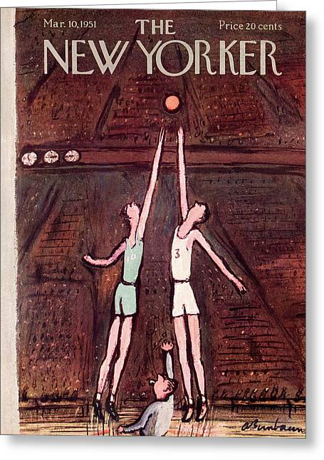 New Yorker March 10th, 1951 Greeting Card