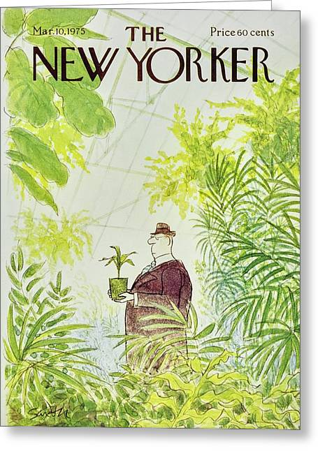 New Yorker March 10th 1975 Greeting Card