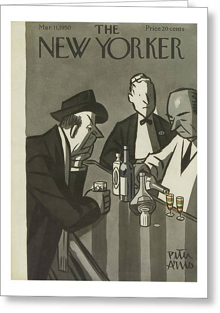 New Yorker March 11th, 1950 Greeting Card