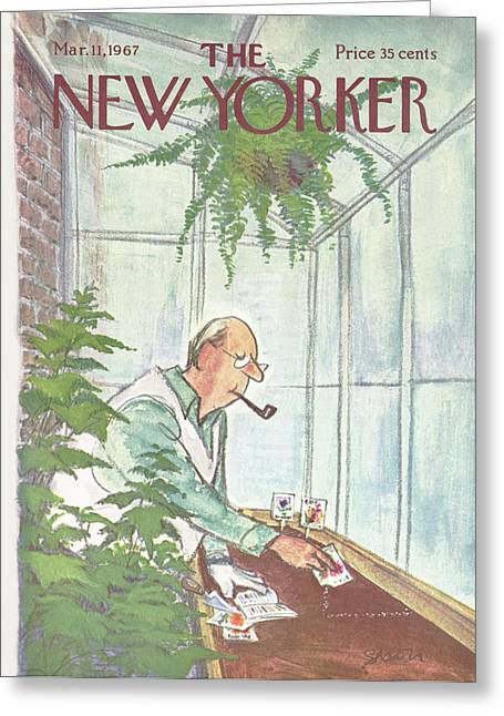 New Yorker March 11th, 1967 Greeting Card