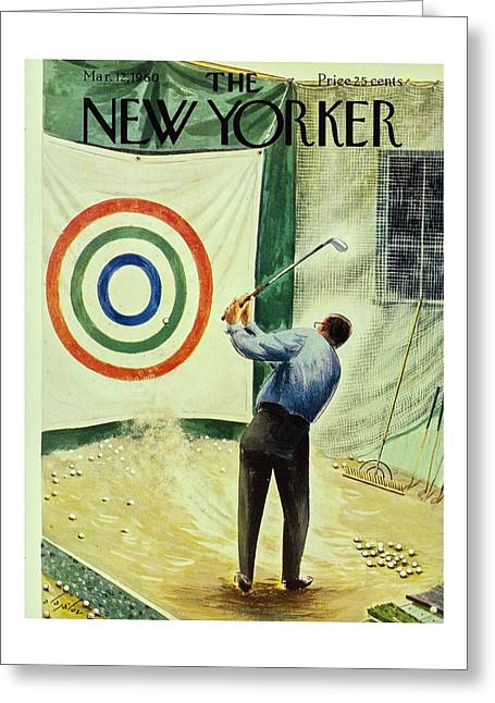 New Yorker March 12th 1960 Greeting Card