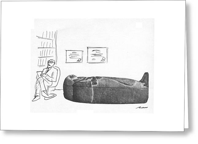 New Yorker March 12th, 1979 Greeting Card by Al Ross