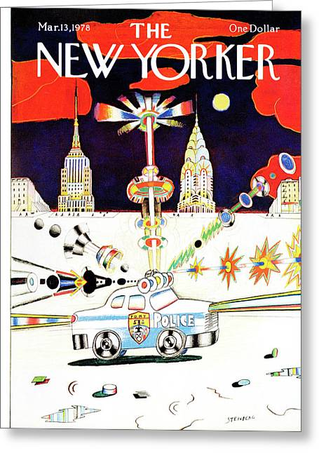 New Yorker March 13th, 1978 Greeting Card