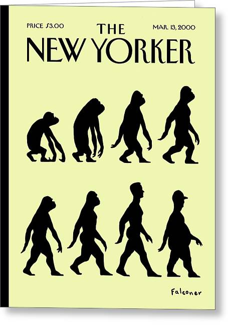New Yorker March 13th, 2000 Greeting Card