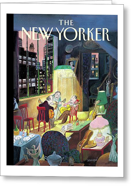 New Yorker March 13th, 2006 Greeting Card