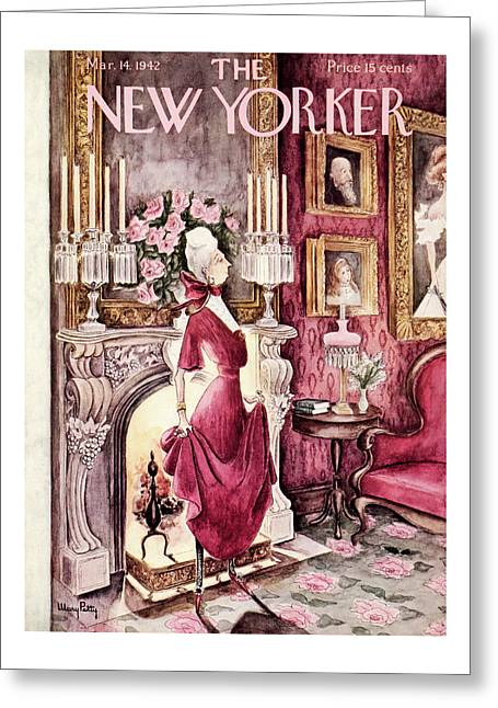 New Yorker March 14th, 1942 Greeting Card