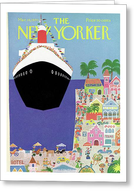 New Yorker March 14th, 1970 Greeting Card