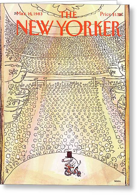 New Yorker March 14th, 1983 Greeting Card
