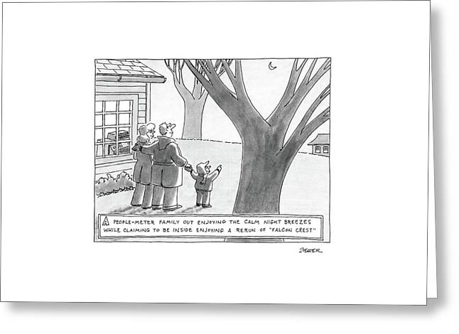 New Yorker March 14th, 1988 Greeting Card by Jack Ziegler