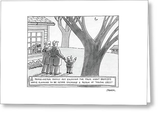 New Yorker March 14th, 1988 Greeting Card