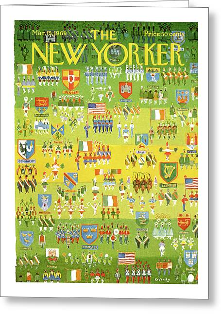 New Yorker March 15th, 1969 Greeting Card
