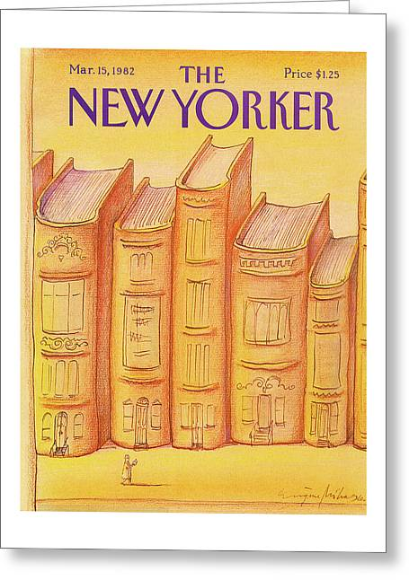 New Yorker March 15th, 1982 Greeting Card