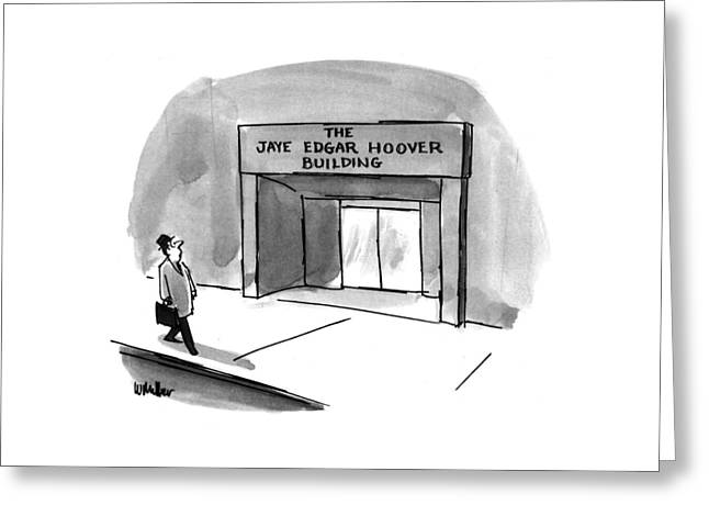 New Yorker March 15th, 1993 Greeting Card