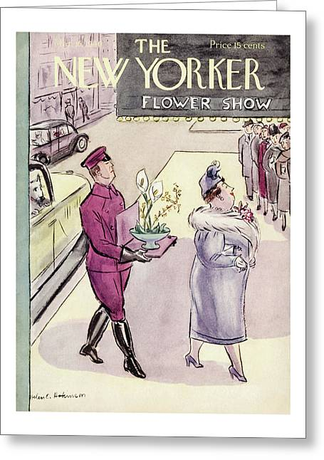 New Yorker March 16th, 1940 Greeting Card