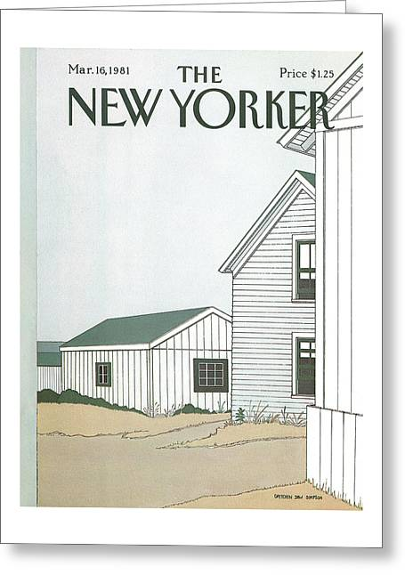 New Yorker March 16th, 1981 Greeting Card