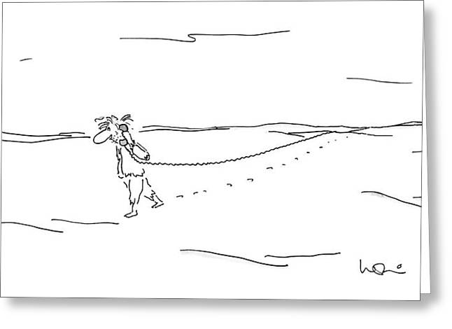 New Yorker March 16th, 1987 Greeting Card by Arnie Levin