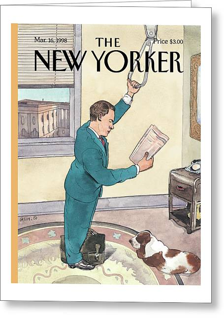 New Yorker March 16th, 1998 Greeting Card