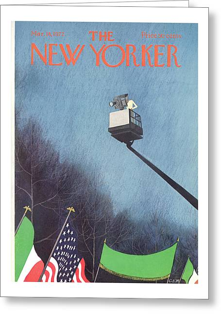 New Yorker March 18th, 1972 Greeting Card
