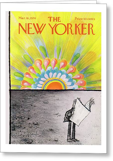 New Yorker March 18th, 1974 Greeting Card