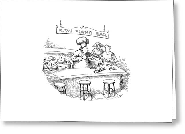 New Yorker March 18th, 1991 Greeting Card by John O'Brien