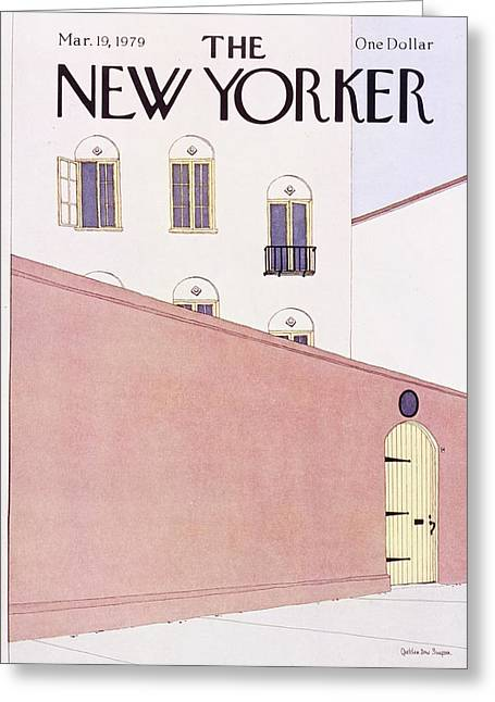 New Yorker March 19th 1979 Greeting Card