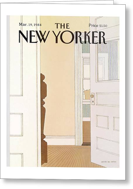 New Yorker March 19th, 1984 Greeting Card