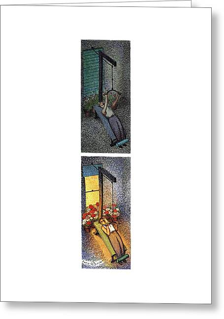 New Yorker March 20th, 1995 Greeting Card