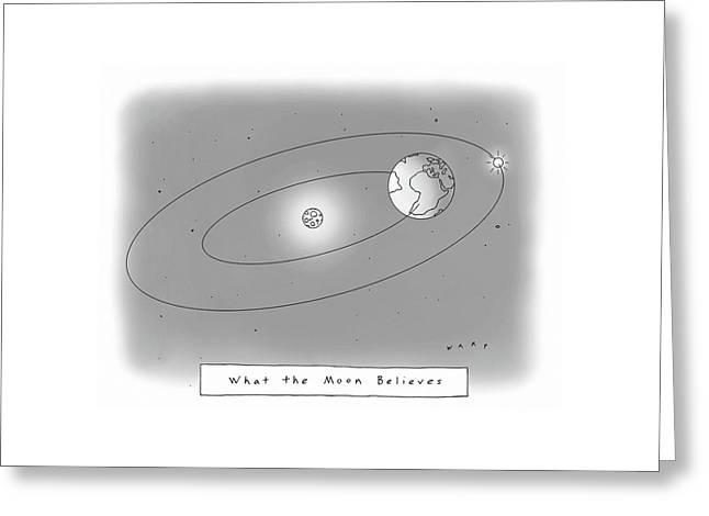 New Yorker March 20th, 2017 Greeting Card