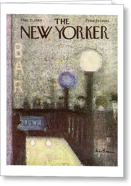 New Yorker March 21st, 1964 Greeting Card