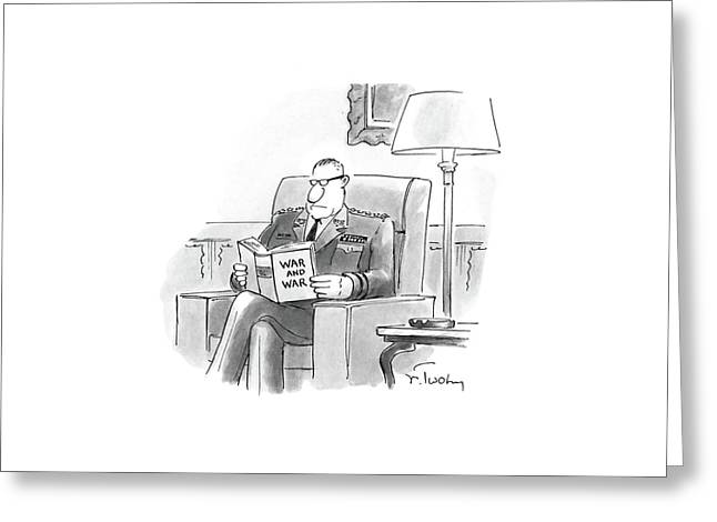 New Yorker March 21st, 1988 Greeting Card by Mike Twohy