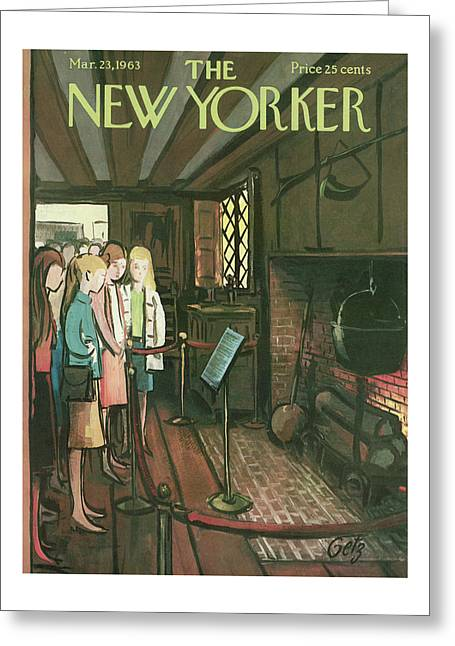New Yorker March 23rd, 1963 Greeting Card
