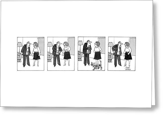 New Yorker March 23rd, 1987 Greeting Card