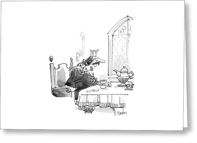 New Yorker March 24th, 1986 Greeting Card