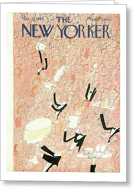 New Yorker March 25, 1944 Greeting Card