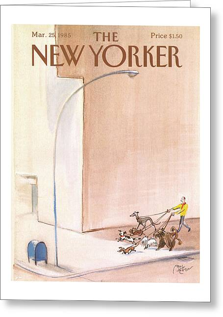 New Yorker March 25th, 1985 Greeting Card