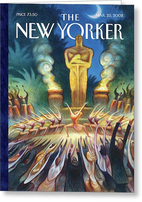 New Yorker March 25th, 2002 Greeting Card