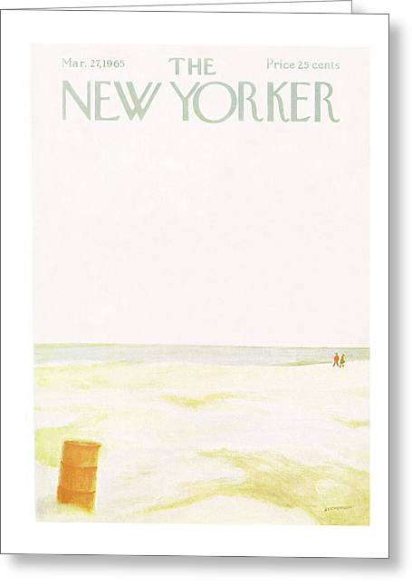 New Yorker March 27th, 1965 Greeting Card