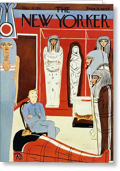 New Yorker March 28 1931 Greeting Card